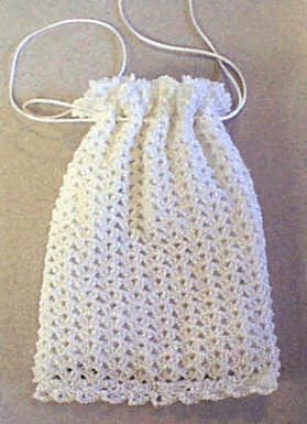 Crochet Wedding Purse Pattern | Crochet & Knit bag, case, clutch, p