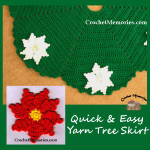 Quick & Easy Yarn Tree Skirt