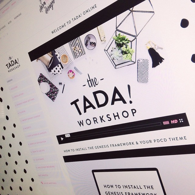 Curious what The TADA! Workshop has to offer? Here's a little sneak peek! Follow the fabulous @mypaperpinwheel for your chance to win access for free! #tada #prettydarncutedesign #thetadaworkshop ?✨??