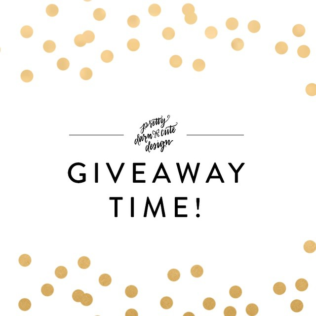 I'm hosting a SURPRISE giveaway on the blog... The prize is something I love enough I'd like to keep it all to myself - link in profile then click blog ??? #giveaway #surprise #prettydarncutedesign