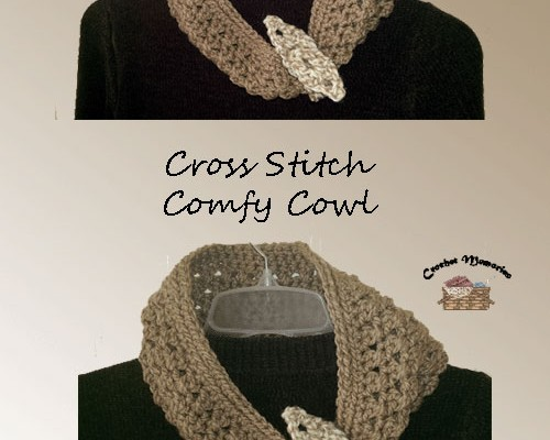 Cross Stitch Comfy Cowl