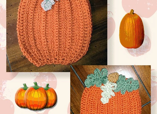 Pumpkin Patch Decorative Potholder