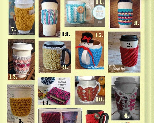 Cup Cozies, Mug Warmers, & On-The-Go Wraps
