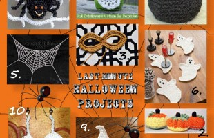 Last minute Halloween projects!