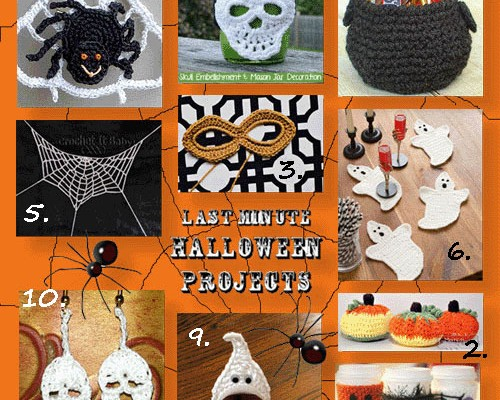 Last Minute Halloween Projects Round Up