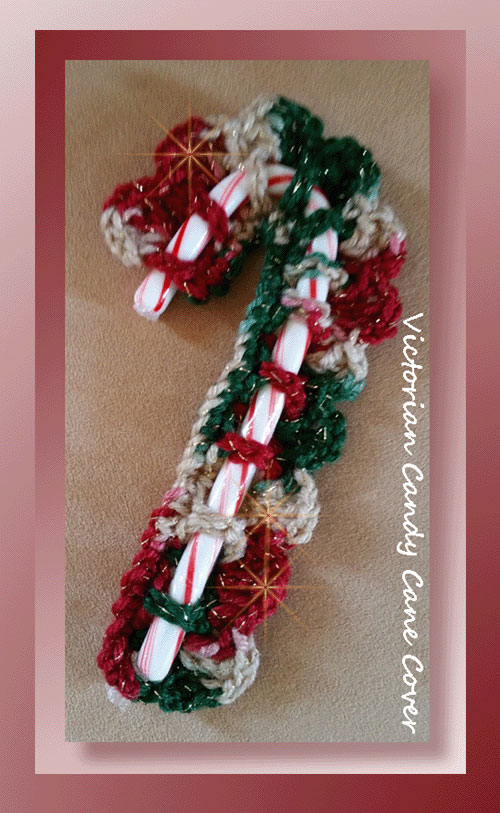 Victorian Candy Cane Cover