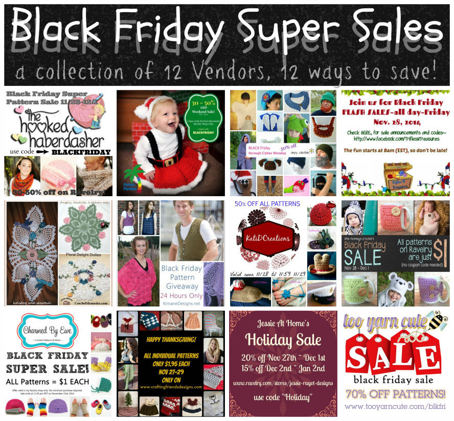 Specials and sales by 12 vendors!
