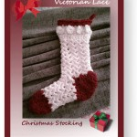 Free pattern for a petite Victorian-style Christmas Stocking