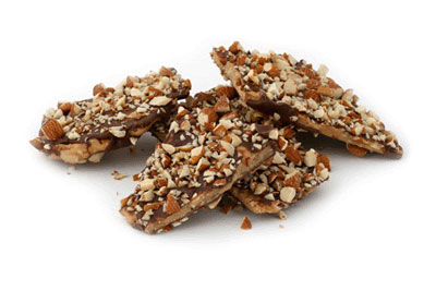 an old recipe for English Toffee
