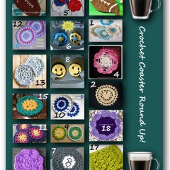Crochet patterns for coasters!