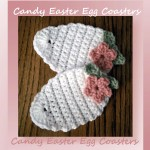 Candy Easter Egg Coasters
