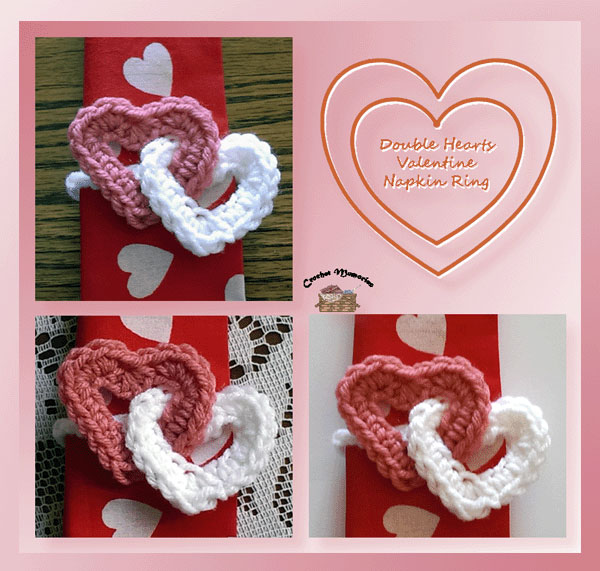 Image result for crochet valentines day