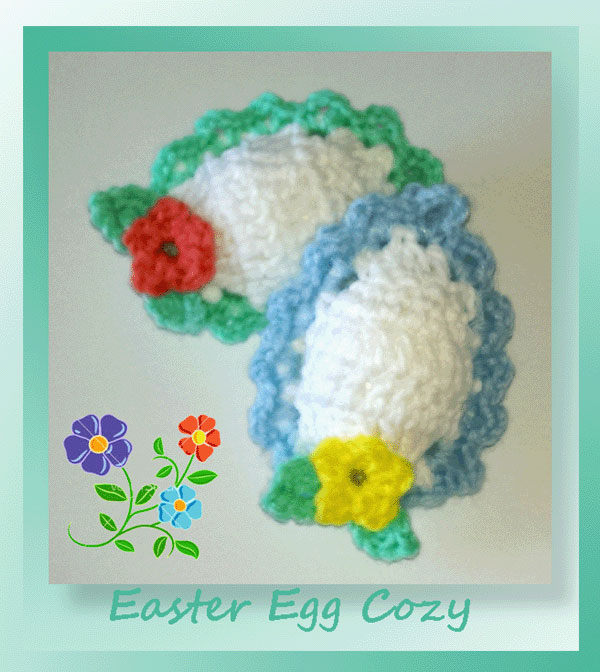 www.crochetmemories.com/blog - Free pattern for Easter egg cozies