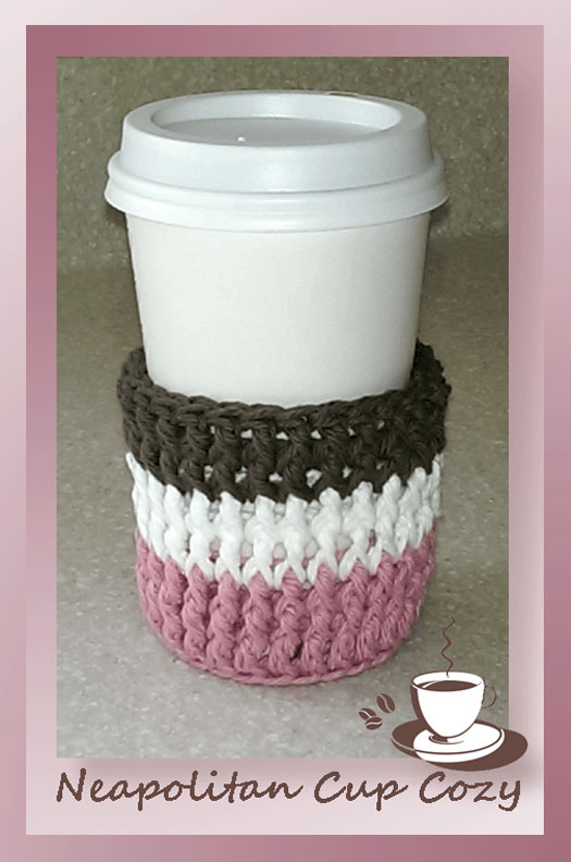 www.crochetmemories.com/blog - free pattern for a cup cozy
