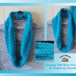 www.crochetmemories.com/blog - Free pattern for a soft yarn cowl and matching headband