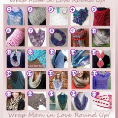 www.crochetmemories.com/blog - Wrap Mom in Love Round Up!