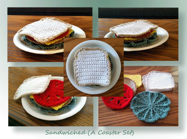 Sandwiched (A Coaster Set)
