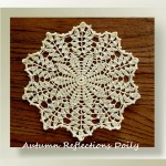 Autumn Reflections Doily