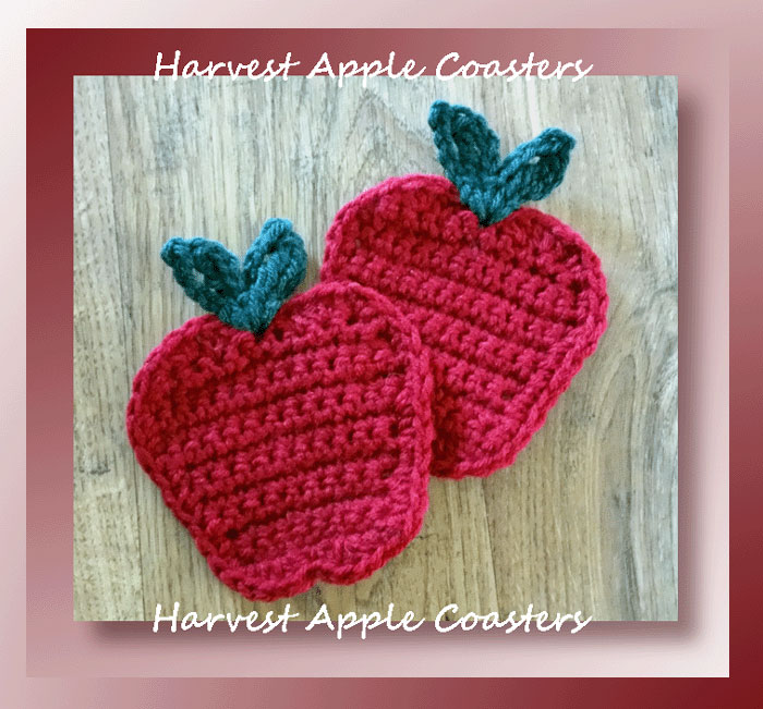 Harvest Apple Coasters