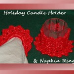 Holiday Candle Holder & Napkin Rings