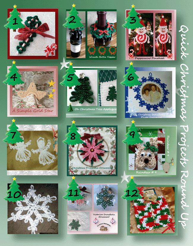 Quick Christmas Projects Round Up