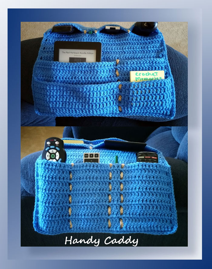 Handy Caddy Crochet A Long Free Pattern