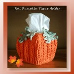 Fall Pumpkin Tissue Holde