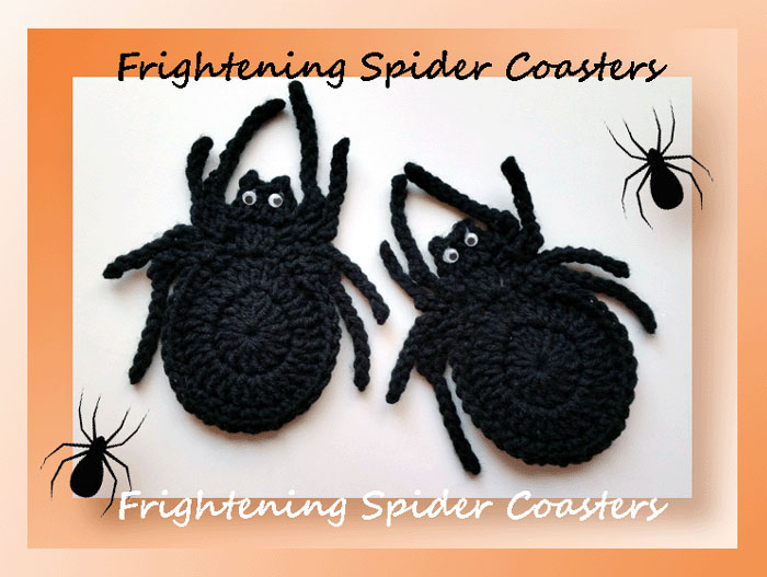 Frightening Spider Coasters