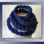 Starry Night Luscious Cowl