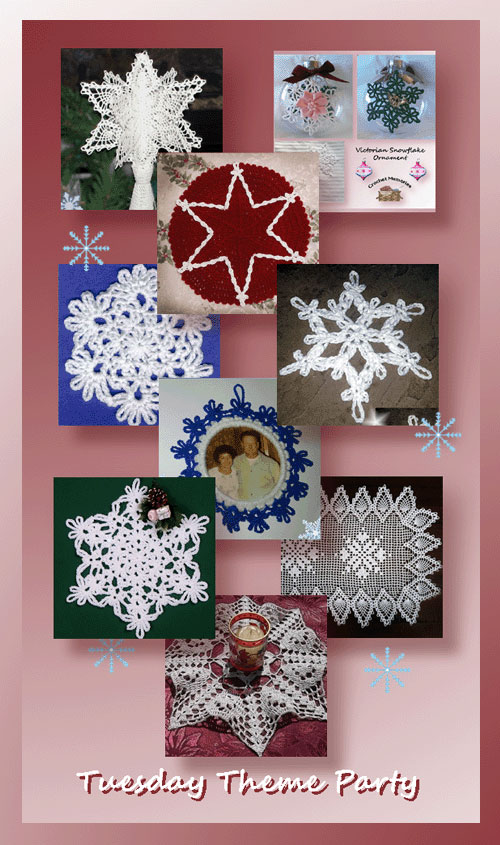 Tuesday Theme Party - Snowflakes