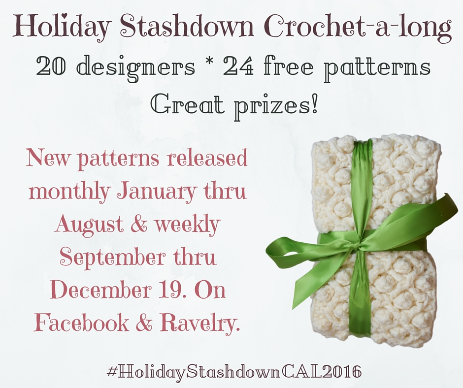 Holiday Stashdown Crochet-a-long 2016