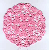 Crochet-a-Long Hearts Doily (Section 2)