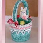 Honeycomb Easter Basket