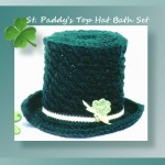 St. Paddy's Top Hat Bath Set