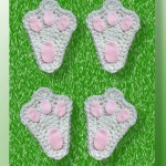 Pattern Review - Bunny Paw Applique