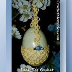 Lace Egg Basket