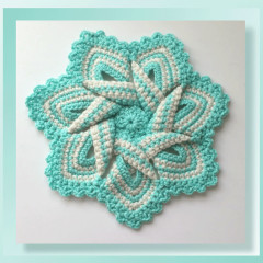Pattern Review – Flower Hotpad