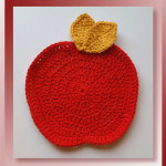 Pattern Review - Apple Dishcloth