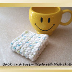 Back and Forth Textured Dishcloth