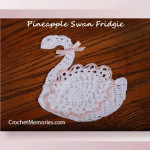 Pineapple Swan Fridgie