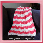 Ripply Wave Security Blanket