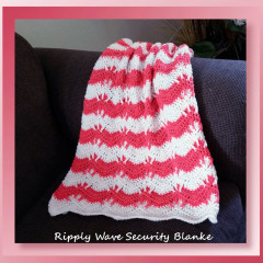 Yarn Review – Ripply Wave Security Blanket