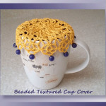 Beaded Textured Cup Cover