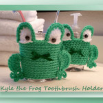 Kyle the Frog Toothbrush Holder