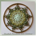 Shaded Mandala Sun Catcher