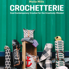 Book Review – Crochetterie and Free Pattern