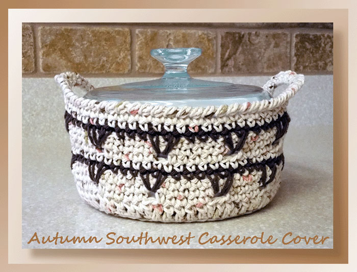 Autumn Southwest Casserole Cover