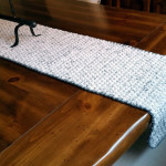 Ivory Tweed Rice Stitch Runner – Review