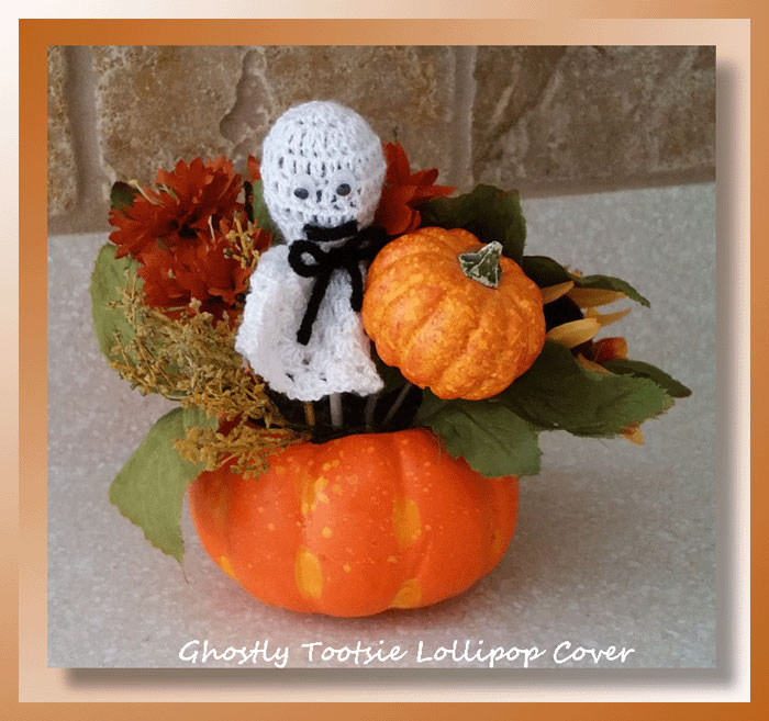Ghostly Tootsie Lollipop Cover
