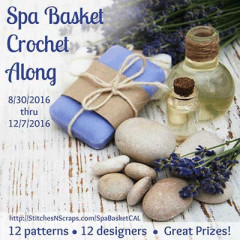 Spa Basket Crochet Along